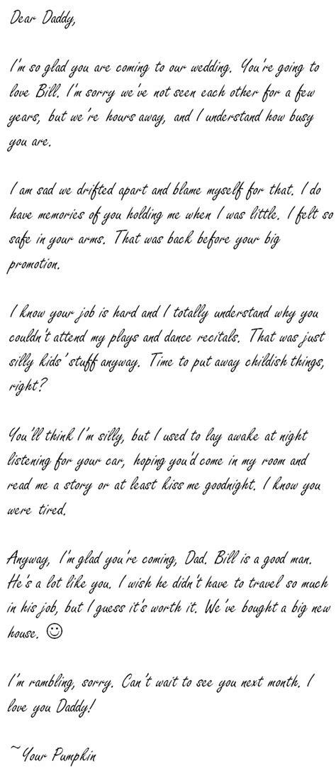dear daddy     letter   future