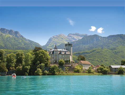 lake annecy   french alps shearings