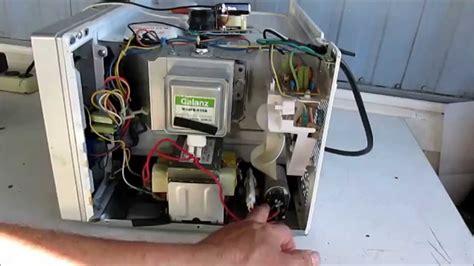 reparacion de un horno de microhondas no calienta 1