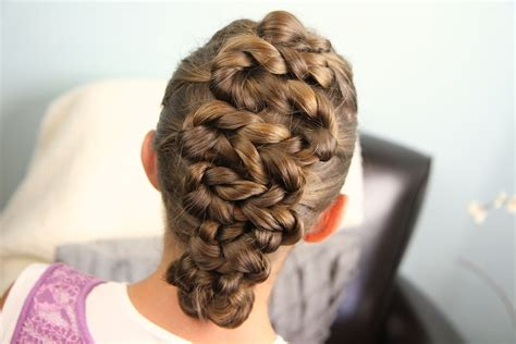 twisted zig zag hairstyle for kids adults