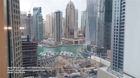 1 Bedroom For Rent Dubai Marina by 1 Bedroom Apartment For Rent Mag 218 Dubai Marina