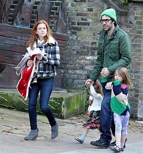 Isla Fisher Pictures - Sacha Baron Cohen Out With His ...