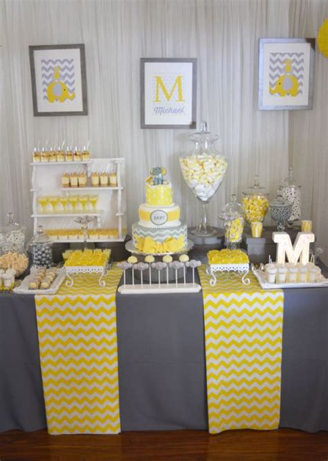 Boy Baby Shower Centerpieces Ideas by Best 25 Yellow Party Decorations Ideas On Pinterest
