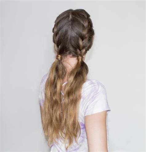 loose french braid tutorial  creative hairstyles