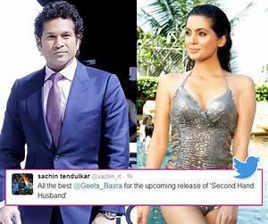 Second Hand Husband's Geeta Basra gets applauded by Sachin ...