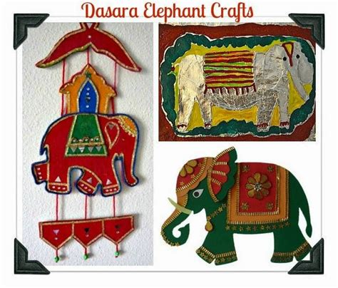 day  dasara elephant crafts artsy craftsy mom