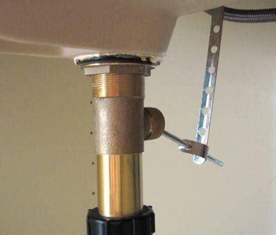 installing  bathroom sink drain ehow
