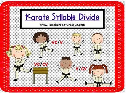 Syllable Karate Divide Division Syllables Open Teach