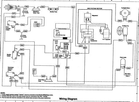 Ge Microwave Oven Wiring Diagram wiring diagram for ge microwave oven circuit and