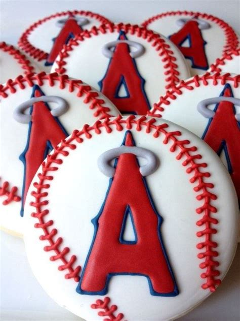 ideas  baseball cookies  pinterest