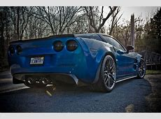2010 Chevrolet Corvette ZR1 with Black Chrome Wheels and