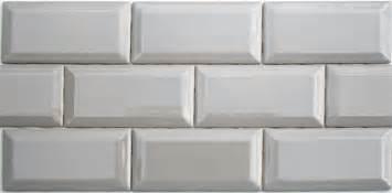 installing subway tile backsplash in kitchen lyric revival 3 x 6 beveled ceramic subway tile in bombay gray
