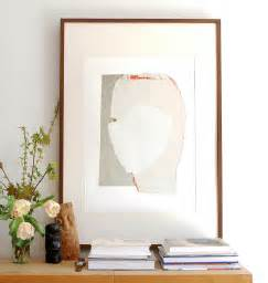 Extra large wall art decor modern abstract white cream