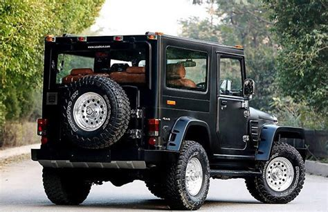 open jeep modified in black colour best modified mahindra thars in india features