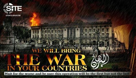 Isis Threaten London With 'war' In Propaganda After Khalid