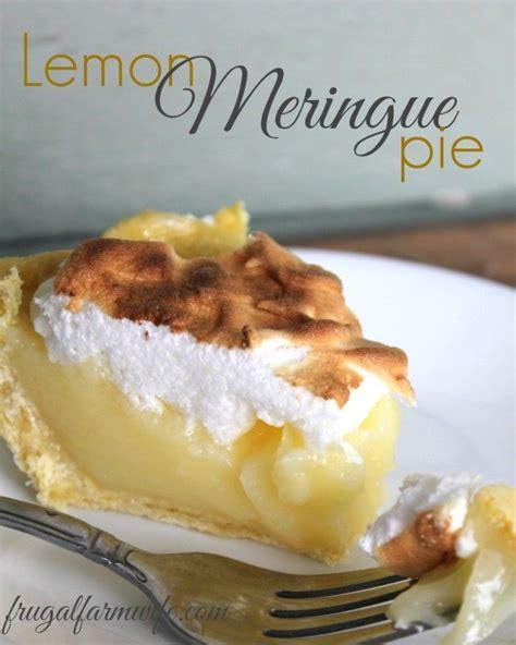 meringue dessert recipes easy 25 best ideas about easy lemon meringue pie on