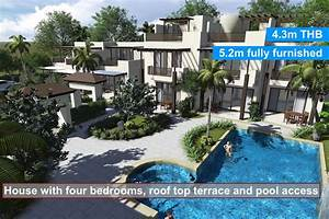 Buy a house in Thailand at the beach in Rayong, new luxury ...