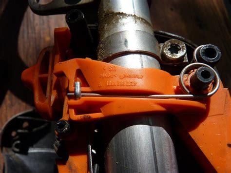 stihl fs  throttle cable repair pics lawnsite