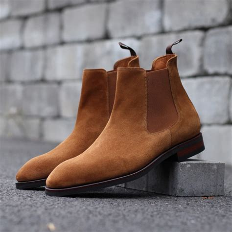 light brown boots chelsea boot light brown suede