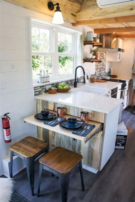 Ideas For A Tiny Kitchen by 70 Tiny House Kitchen Decor Ideas Tiny House