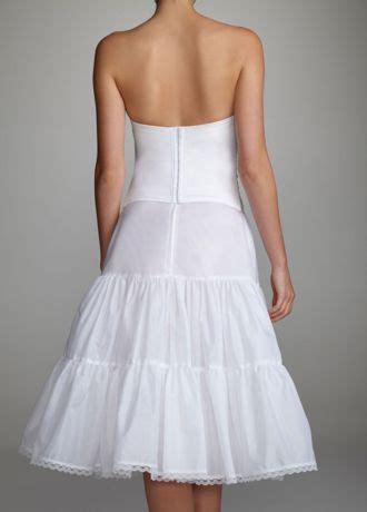 tea length bridal slip davids bridal