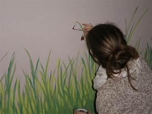 Gras An Die Wand Malen : kinderzimmer wiese malen bibkunstschuur ~ Markanthonyermac.com Haus und Dekorationen