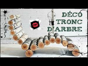 Comment Creuser Un Tronc D Arbre : d corations avec des troncs d 39 arbres youtube ~ Melissatoandfro.com Idées de Décoration