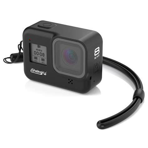 sheingka silicone protective camera case black white