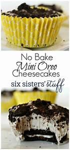 No Bake Mini Oreo Cheesecakes | Recipe | Oreo cheesecake ...