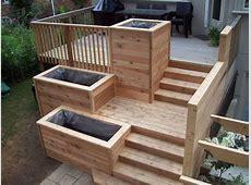 Builtin Deck Planters My Gardens
