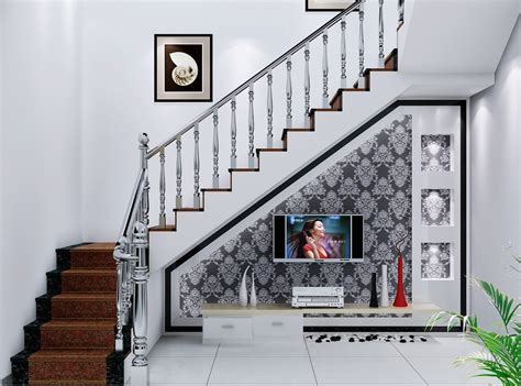creative ideas to use spaces stairs