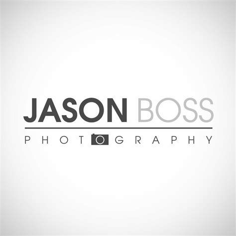 modern photography logo  watermark   etsy