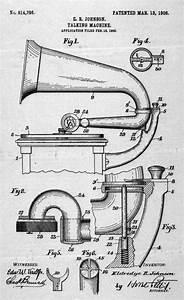 Diagram And Specifications Detailing Eldridge Johnson U0026 39 S