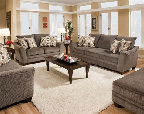 Living Room Sets Perth by Revolution Sofa Pewter