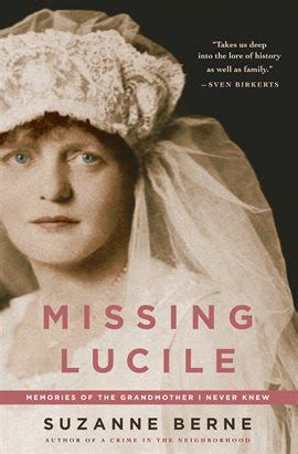 Missing Lucile Ebook by Suzanne Berne - hoopla
