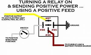 Help Wiring A Relay To A Dash Switch