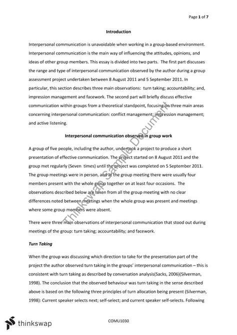 effective communication essay pevita