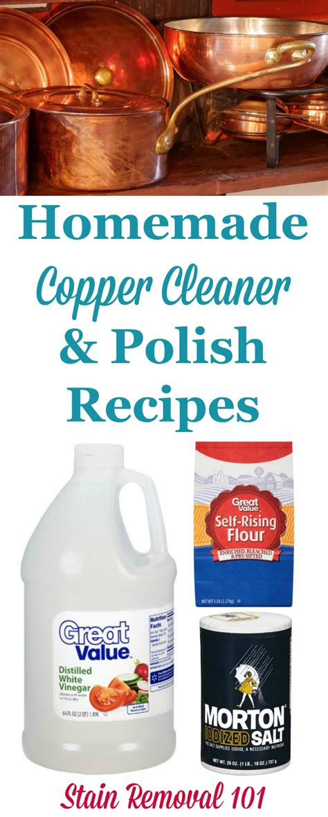 homemade copper cleaner polish recipes