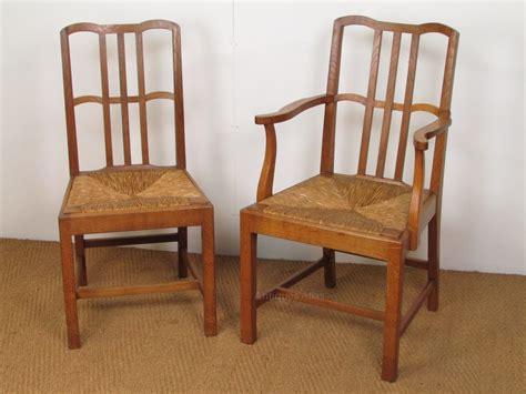 set of 6 cotswold school oak dining chairs antiques atlas
