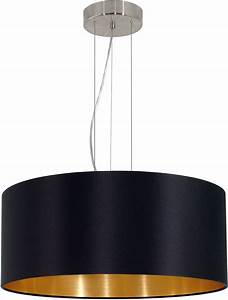 Eglo a maserlo contemporary satin nickel drum pendant lighting fixture egl