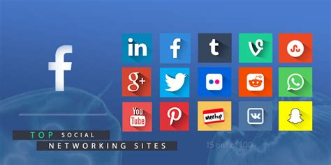 Top 15 Social Networking Sites Out Of These 100 Websites