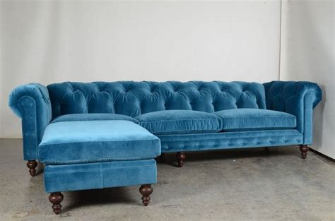 Peacock Blue Loveseat by Stunning New Peacock Blue Sofa Soho Chesterfield Tufted