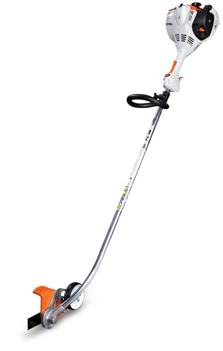 stihl bed edger fc 56 c e edger homescaper series edger stihl usa