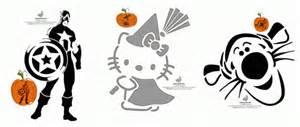 Panda Pumpkin Carving Stencil by Free Printable Pumpkin Stencils Avengers Hello Kitty