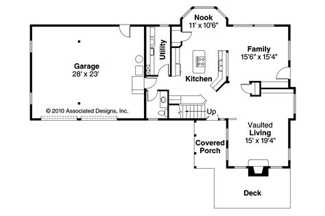 Tudor House Plans  Walcott 30166  Associated Designs