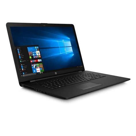 but ordinateur portable hp pc portable 17 3 quot 17bs061nf 4 go de ram windows 10 intel celeron n3060 intel hd 400