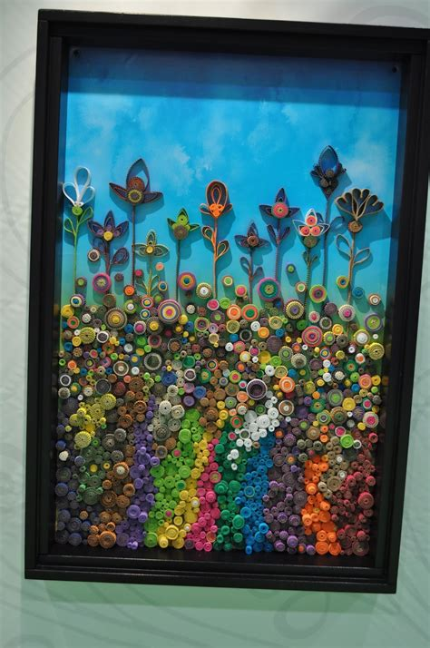 picture collage ideas for large wall rolled paper flower a craft in your day