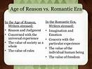 English Literature : The Romantic Period