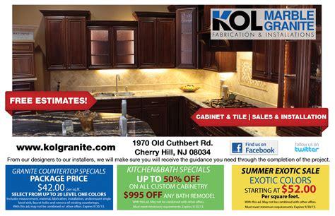 kitchen remodeling specials kol kitchen bath