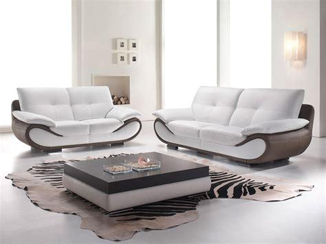 sublime canap 233 contemporain en cuir terre meuble